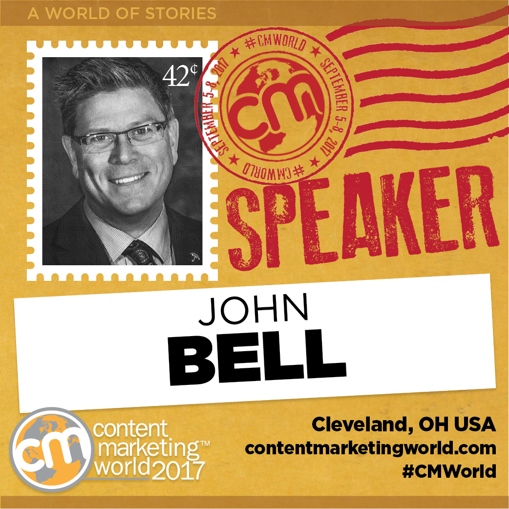 Speaker at Content Marketing World