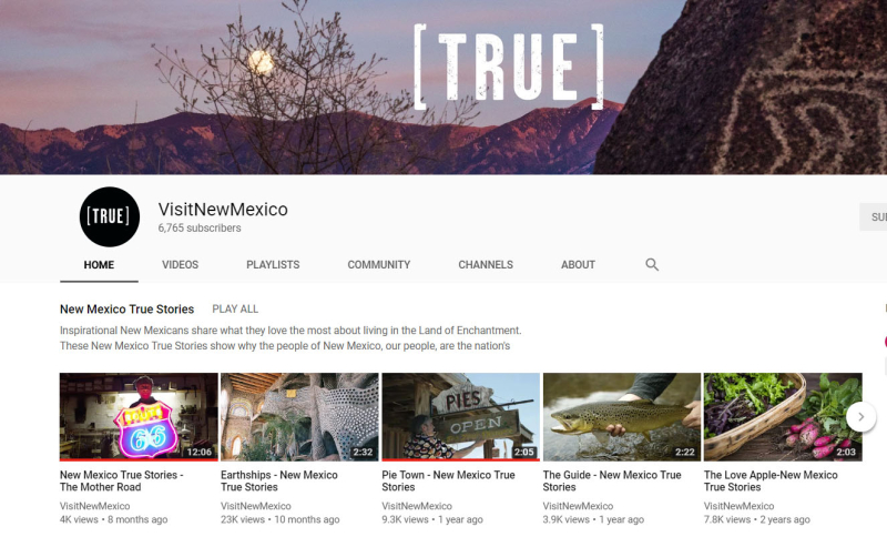 NewMexicoTrue_YouTube